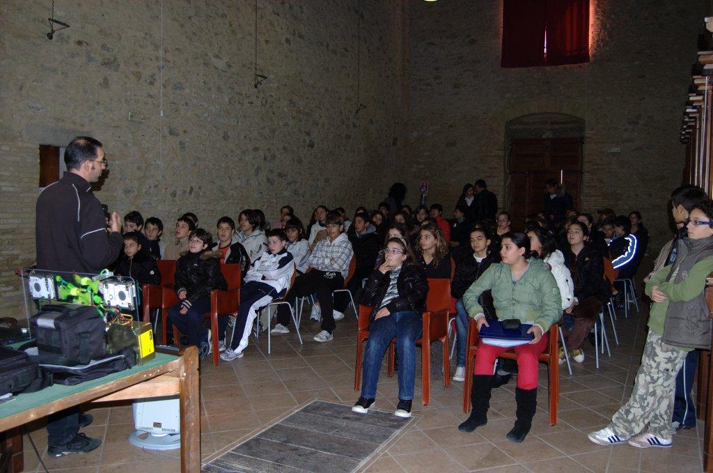 Claudio Scaccia introduce gli argomenti dell'evento