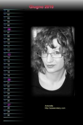 Calendario Rudy Bandiera - Giugno 2009