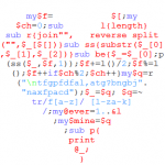 Declaration of love in Perl