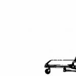Abbattimento a terra di barella autocaricante con singolo soccorritore