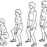 Posizione squat