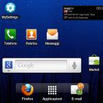 Samsun Galaxy Tab con Firefox