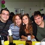 i quattro Bruni della Croce Verde con capelli