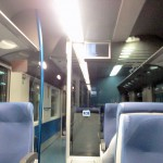 carrozza ferroviaria con BSOD