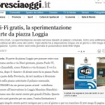 Wifi Brescia Brescia Oggi