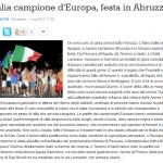 Italia campione d'europa - Il centro fail