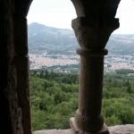 Panorama dall'eremo di San Marco