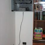 Por último, mi casa tiene su propio gabinete de red