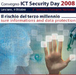 ICT Security Day 2008, I (maybe) there.