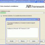Para instalar. NET 3.5, cierre el instalador