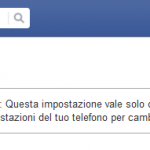 Disabilitare autoplay video su facebook