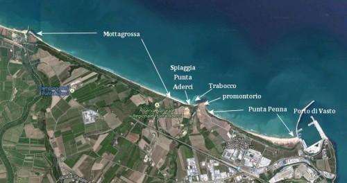 I luoghi di Punta Aderci