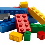 A particle accelerator made with lego