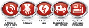 Catena della sopravvivenza OHCA 2015