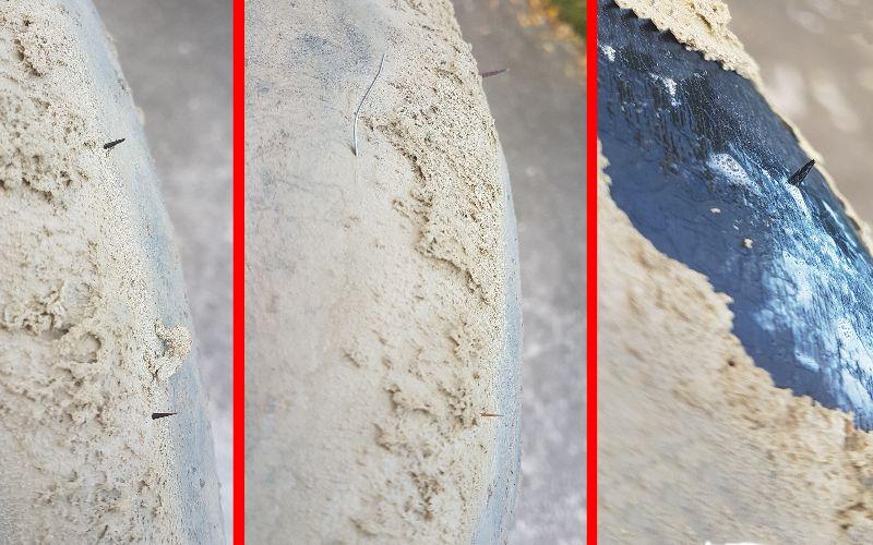 Interno gomma tubeless per MTB con aculei